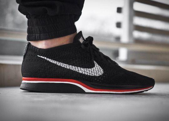 Nike Flyknit Racer Custom || Follow @filetlondon for more street style #filetclothing