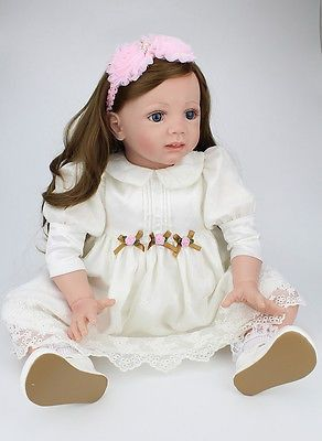 awesome Reborn Toddler 24 inch Soft Vinyl Realistic Lifelike Real Looking Baby Dolls - For Sale Check more at http://shipperscentral.com/wp/product/reborn-toddler-24-inch-soft-vinyl-realistic-lifelike-real-looking-baby-dolls-for-sale/