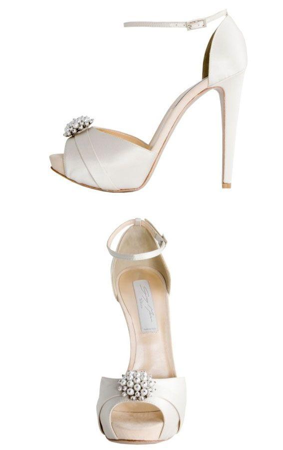 scarpe da sposa grey mer