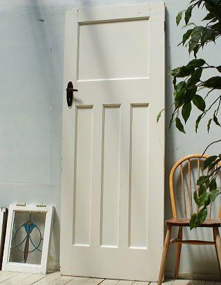 イギリス アンティーク 木製ドア 扉 ディスプレイ 建具 3263