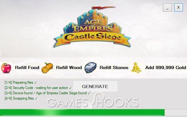 Age of Empires Castle Siege Hack (Mediafire)   Games Hooks