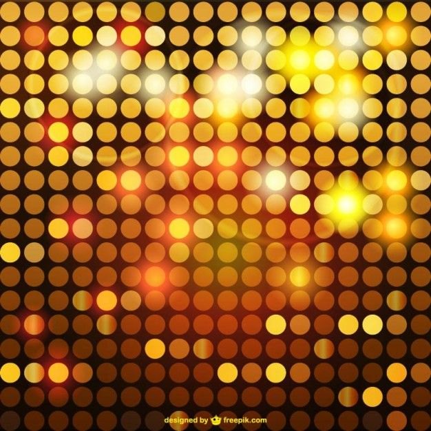 Shiny golden mosaic background Free Vector