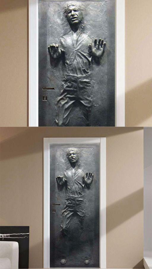 Han Solo Frozen Door Decal. @thistookmymoney