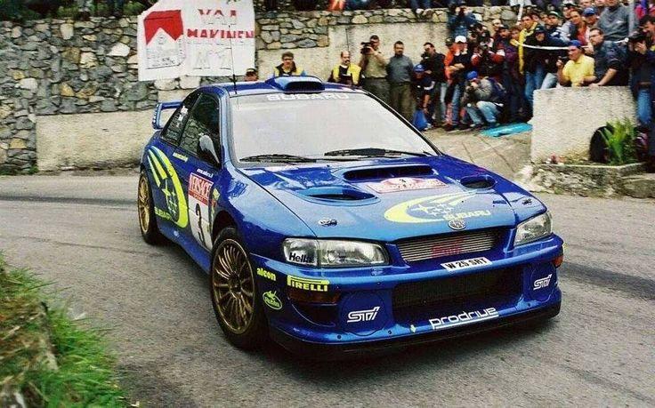 Sanremo Rally 2000 Richard Burns.  #wrc #wrcofficial #rally #rallye #subaru #impreza #subaruimpreza #motorsport #pictureoftheday by classic_rally