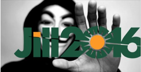 International hacker collective Anonymous has launched a campaign against the virtual media blackout of Green Party presidential candidate Jill Stein.