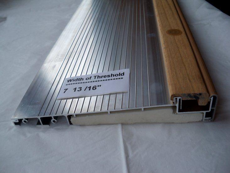 Removing exterior threshold community - Exterior door metal threshold replacement ...