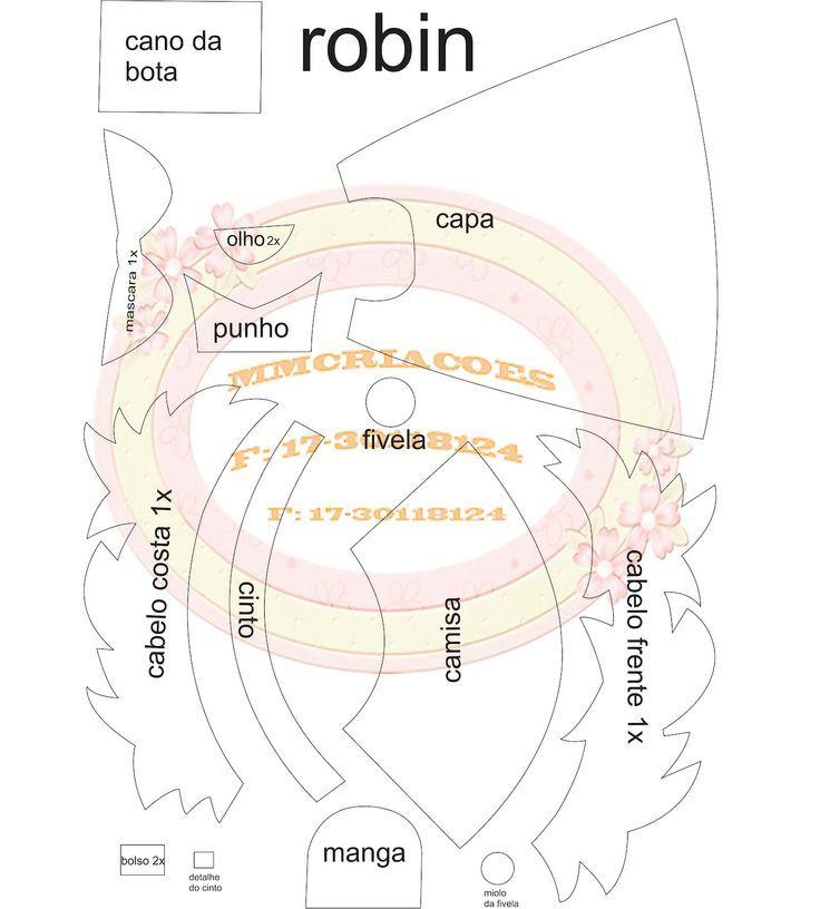 molde robin:
