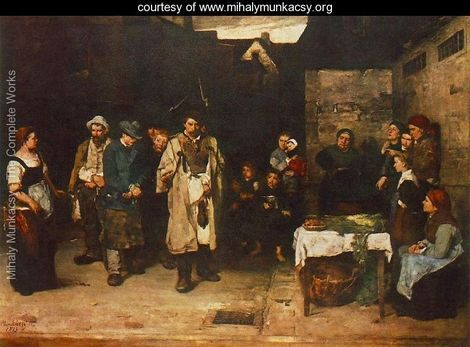 Tramps at Night 1872 73 - Mihaly Munkacsy - www.mihalymunkacsy.org