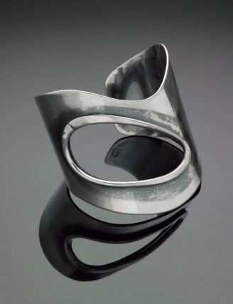 Art Smith, American, born in Cuba, 1917–1982. Open Hole, bracelet about 1950–60,silver
