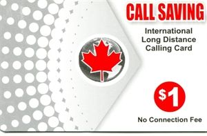 Picture of Call saving calling card $1.00