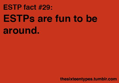 30 Best Estp Images On Pinterest Personality Types