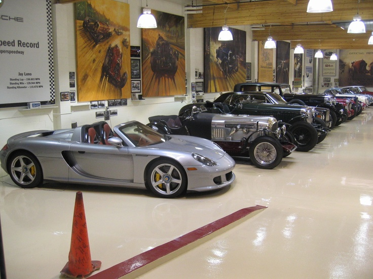 collector car garage ideas - Inside Jay Leno s garage Jay Leno s Garage