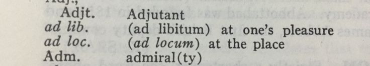 Now I know what ad libitum means!