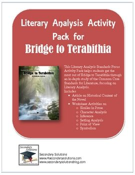 fake analysis of bridge to terabithia Fact #2: katherine paterson's newbery award-winning bridge to terabithia  happens to be one of the greatest, saddest, most unforgettable.