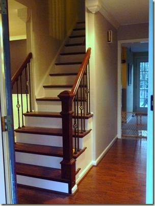 Remodelaholic | Beautiful Open Staircase Reveal