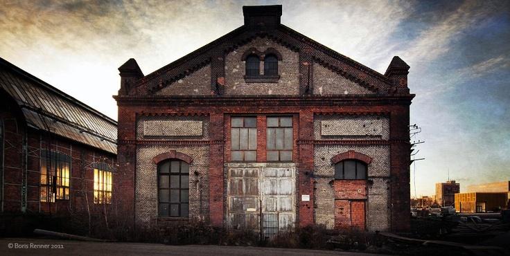 Ostrava, industrial architecture