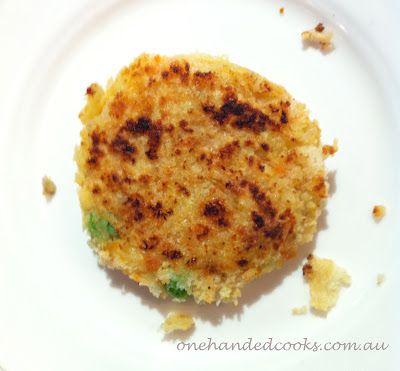 baby & toddler food: crispy fish and veggie bites