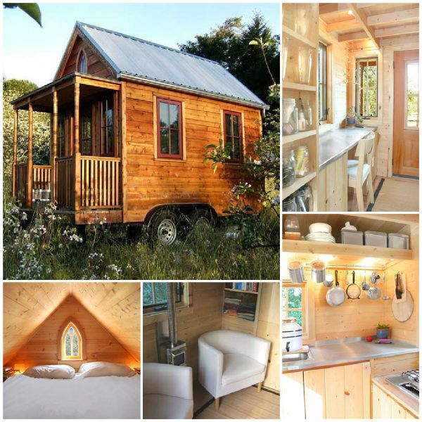 DIY Tiny House on Wheels -- Camp and/or Ice fishing ?!