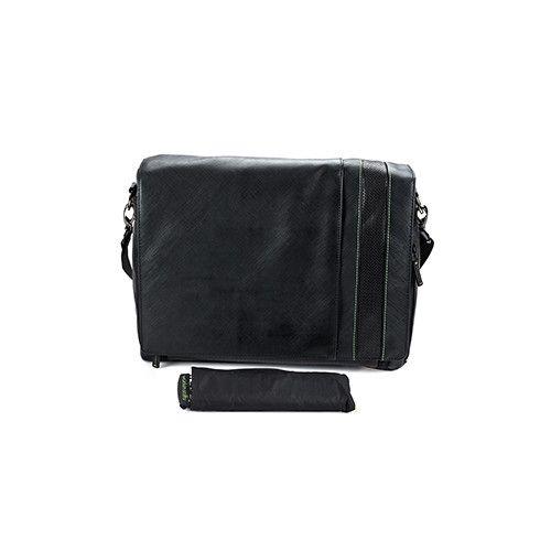 Wurkin Stiffs Messenger Bag (Black)