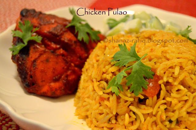 LOVE TO COOK: Chicken Pulao | Chicken Rice | Step by step method...