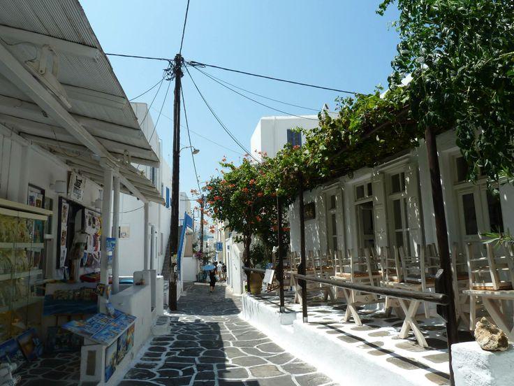 Mykonos Greece by AGreekAdventure.com
