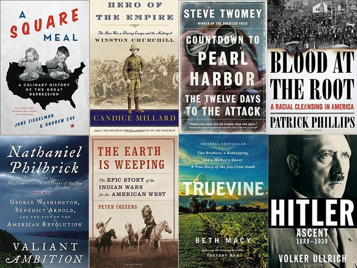 The Top History Books of 2016! Here are some of the best titles to hit shelves this past year. Via Smithsonian Mag.