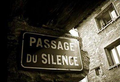 Passage du silence