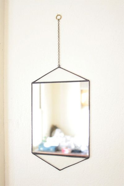 481 best decor images on pinterest instagram 1950s and for Small hanging mirror