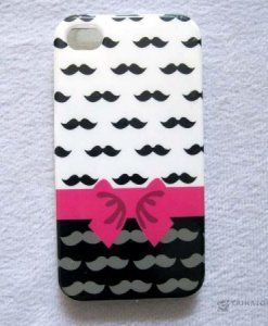 Kryt Pink Bow - iPhone 4/4S