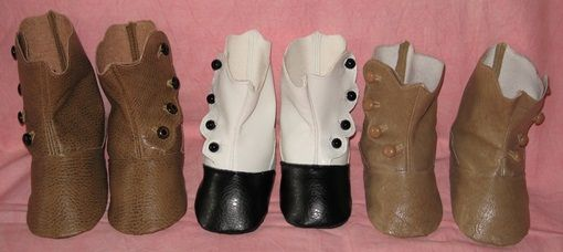 Make doll boots