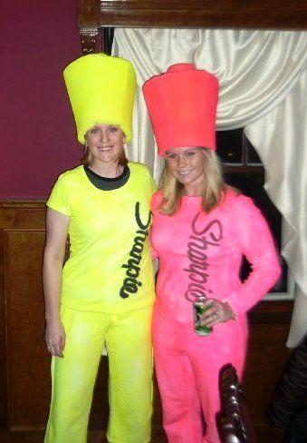 highlighter costume @Jeri Hester-Markle; for k teachers on holloween