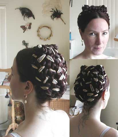 Shakespearean Hair | well hair was interesting as my own hair is only long enough to be ...