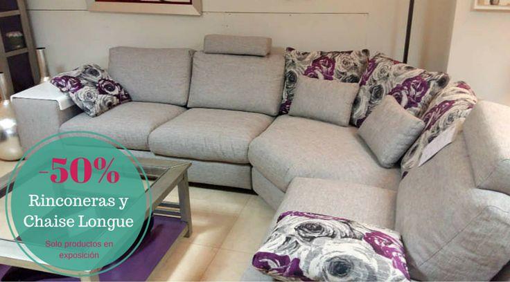 #Ofertas en #sofás #rinconeras y #Chaiselongue #decoracion #salones http://www.aristamobiliario.es/29-sofas-rinconeras-chaise-longue