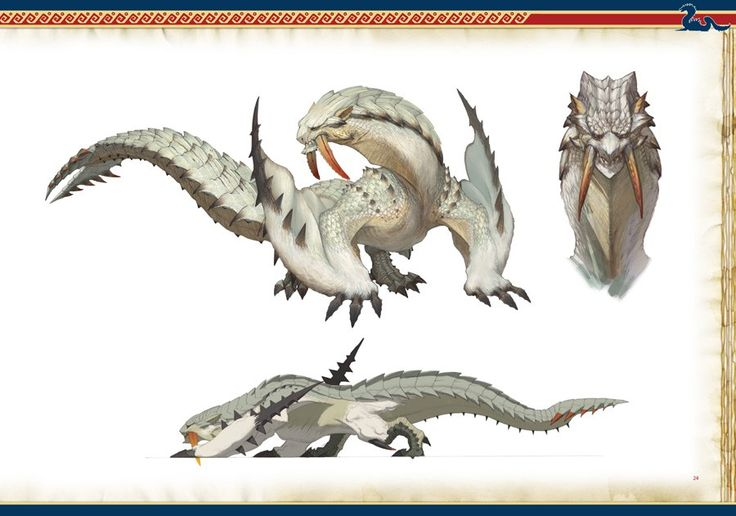 UDON releases nine preview shots for Monster Hunter Illustrations 2, the second artbook they're localizing for the Monster Hunter series.
