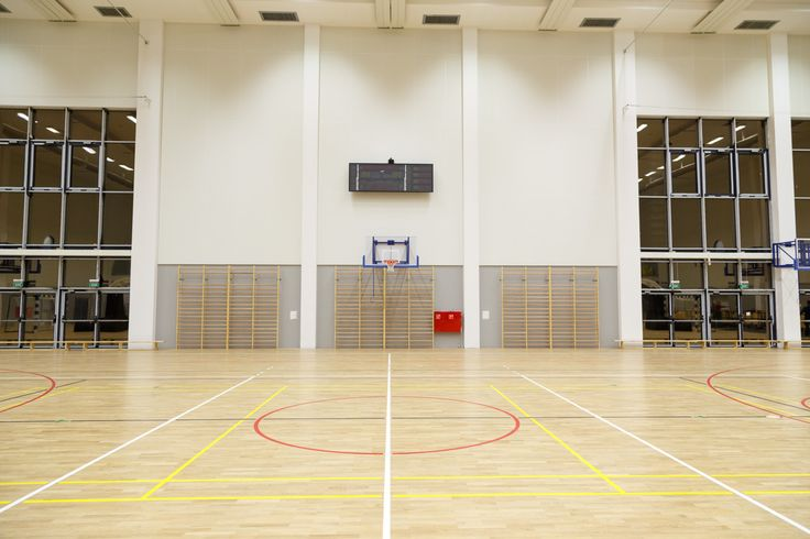 Konstrukcje ścienne do koszykówki, Basketball wall-mounted construction - Foldable. Drabinki gimnastyczne, Wall bar