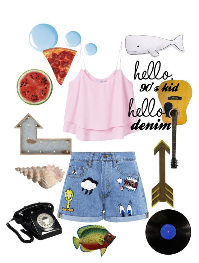 """""""Untitled #92"""" by amberekkel on Polyvore featuring Paul & Joe Sister, MANGO, Topshop, Round Towel Co., Pier 1 Imports and Thro"""