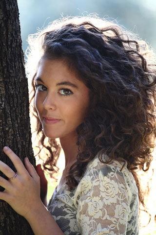 Ph @andreailariucci Model Alessandra come avere capelli ricci