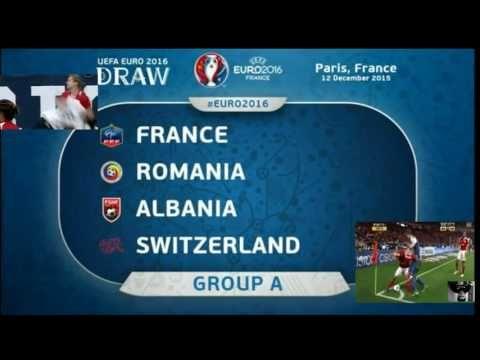 Euro 2016.  Romania Albania and Switzerland France . Match predictions. ...
