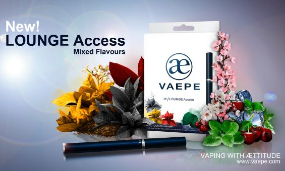 VAEPE LOUNGE ACCESS MIXED FLAVORS