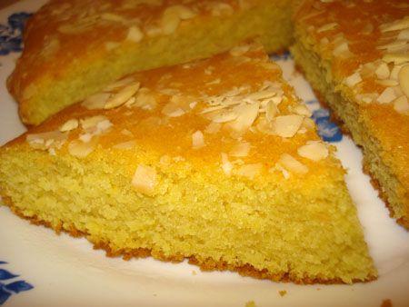 Recette sfouf ou Gâteau libanais à la semoule, cuisinez sfouf ou Gâteau libanais à la semoule