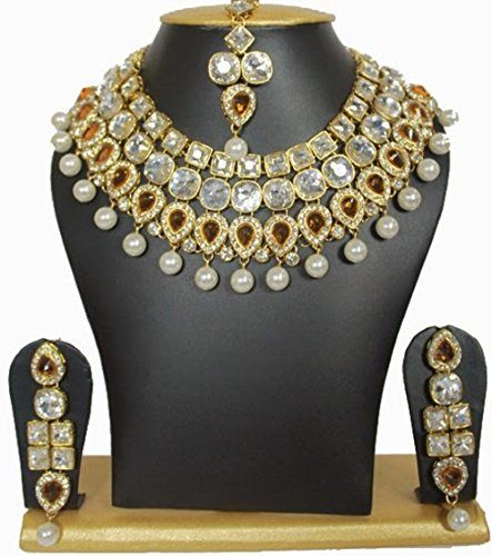 Dazzling Indian Bollywood Gold Plated Citrine Stone Gold ... https://www.amazon.com/dp/B01MR99K24/ref=cm_sw_r_pi_dp_x_mfYHybMMY5TXA