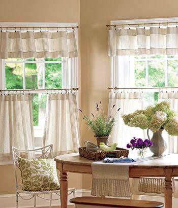 Modern Furniture: Luxury Kitchen Curtains Design Ideas 2012