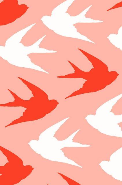Ashley Goldberg bird pattern