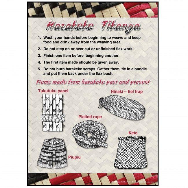Harakeke Classroom Chart | Te Reo Maori Resources