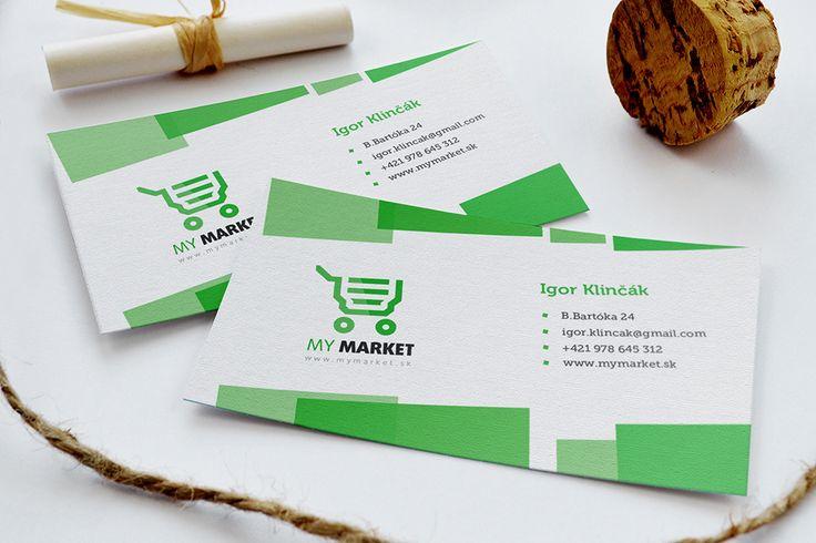 Vizitky My Market / Moderné Webstránky