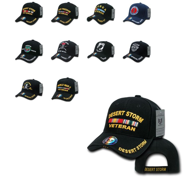 Iraq Korea Desert Storm POW WW2 Veteran Vet Military Baseball Hats Hat Cap Caps         Doesn't matter when and where you served, they sell baseball hats for all veterans. Buy yours today. You'll get a great deal.                                afghanistan veteran apparel, afghanistan veteran t shirt, cold war veteran t shirt, iraq veteran hat, iraq veteran patch, iraq veteran shirt, military t shirt design, military t shirts, vietnam veterans t shirts http://