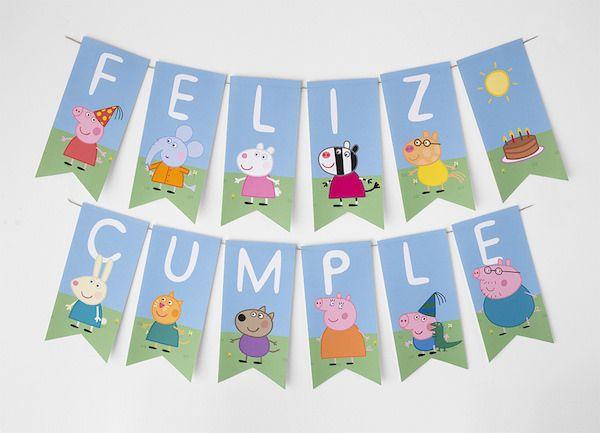 Cumpleaños temático de Peppa Pig