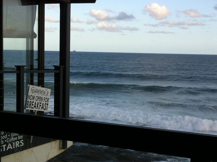 Gianni's in Ballito, KZN - nice place for a coffee - they serve breakfast, and there are pizzas on the menu