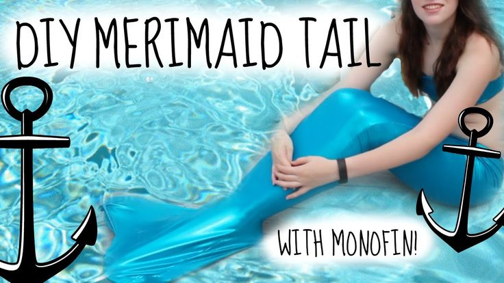 DIY Swimmable Mermaid Tail- How to make a Fin Fun Inspired Tail + Monofi...