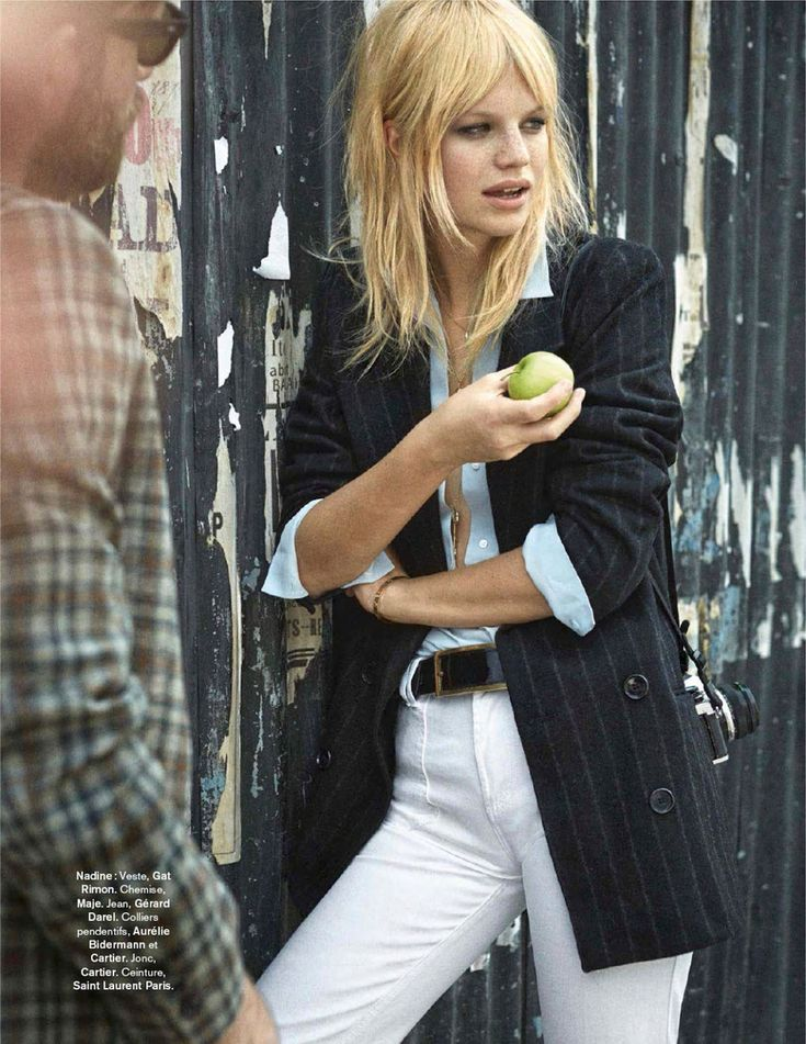 """""""Carnaby Street"""" Nadine Leopold By Stefano Galuzzi For Glamour France September 2014"""